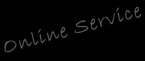 OnlineService オンラインで24時間365日、車検、点検、整備、カーケアの予約、見積りを受付中!